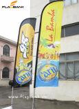 bandierina della piuma di stampa del Tradeshow di 2.8m doppie/bandiera laterali di alluminio di volo