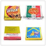 De Doos van de Pizza van de Hoeken van het Sluiten van de hoogste Kwaliteit (pz-059)