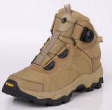 Быстро ботинки воинского штурма системы шнуровки конструкции горжетки реакции