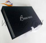 Rectángulo de regalo tamaño pequeño negro popular caliente de la presentación del álbum de foto