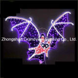 3D LED Bat Design Halloween Decoration Light