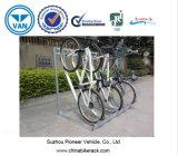 Semi вертикальный шкаф для хранения велосипедов