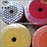 Dd-2 Diamond Dry Polishing Pad para moagem Soft Stone