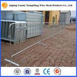 O aço galvanizado barrica barricadas do Portable dos produtos do controle de multidão