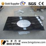 Bancada preta absoluta de superfície contínua popular do granito