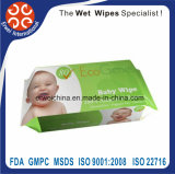 Natural Clean Antibacterial Baby Wipes jetable jetable