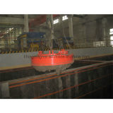 Ímã de levantamento circular do diâmetro 1000mm eletro para sucatas