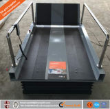휠체어 현관 상승 1m 유압 가정 엘리베이터 수직 휠체어에 의하여 무능하게 하는 기중기