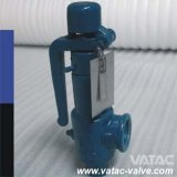 Soupape de sécurité de sûreté de pression de bronze à ressort de plein ou bas ascenseur et d'acier inoxydable de fonte avec le capot ouvert ou étroit