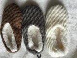 3つのカラー女性のストリップの屋内靴