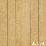 Carrelage en bois de plancher de porcelaine grise de matériau de construction (300X300mm)