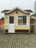Casa de protector prefabricada/prefabricada móvil ensamblada fácil