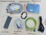 Monitor paciente veterinário do multiparâmetro o mais barato da tela de toque
