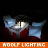 Encender para arriba la silla plástica del PE Chairs/LED/el asiento ligero