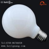 Bulbo del filamento del globo LED de la luz blanca