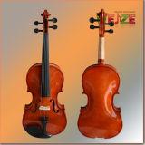 Nivel de entrada rojo marrón todo el violín de Linder