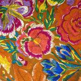 Ярким Habotai напечатанное цветком Silk
