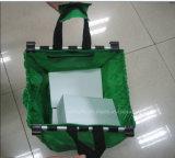 Bolso plegable portable reciclado del carro de la carretilla del supermercado para las compras