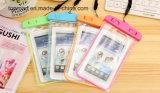 Material protector móvil del PVC del bolso del teléfono celular con la correa