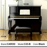 音楽的なInstrument Black Piano 123cm