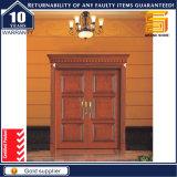 El último diseño de puerta del sitio Pintura de madera revestimiento de puerta MDF