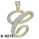 Nieuwe Juwelen 925 van de Manier de Echte Zilveren Tegenhanger van de Brief