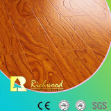 Comercial 12,3 mm HDF AC3 Embossed Elm Waxed Edge Laminate Flooring