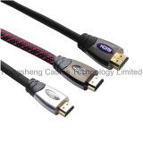 High Speed 20 металла метров кабеля 19pin штепсельной вилки HDMI 2.0V 1.4V