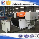 De hydraulische Automatische Scherpe Machine van het Tapijt met Transportband