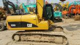 Excavador hidráulico Japón-Exportado 0.5~1.0cbm/20ton Shangai-Situado de la correa eslabonada de la oruga 320d de la retroexcavadora 2012/1000hrs