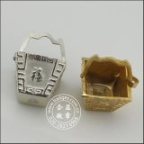 3D Die Casting Gold Twin Fish Metal Craft (GZHY-CRAFT-001)
