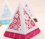 Rectángulo de papel del chocolate del rectángulo del caramelo de la boda/rectángulo de empaquetado del caramelo