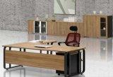 Vector de madera del ordenador de la oficina del vector del escritorio de la estructura moderna del metal (SZ-ODT602)