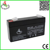 Heißer Verkauf 6V 1.2ah AGM-nachladbare gedichtete Leitungskabel-Säure-Batterie