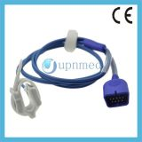 Nihon Kohden Silicone Soft SpO2 Sensor, Pin dB9