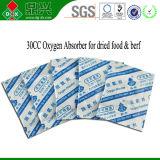 Sacchetto dell'assorbitore dell'ossigeno della FDA 30cc