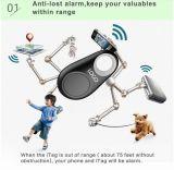 Il cucciolo chiave a distanza senza fili del cercatore di Bluetooth Selfie Shulter scherza il cercatore dei bagagli del cercatore