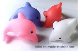 Дельфин пластмассы PVC Customed игрушки подарка малышей самого лучшего дуновения цены цветастый