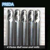 Flöte-Kugel-Wekzeugspritzen-Enden-Tausendstel der Inch-Größen-4
