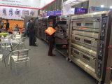 Handelsofen-einphasig-Doppelt-Plattform-Gas-Ofen im Backen-Gerät