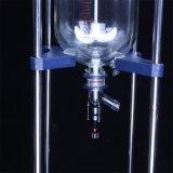 Реактор двойного слоя Heb-20L стеклянный/Jacketed стеклянный реактор с ванной циркуляции топления 30L