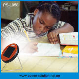 Child Reading (PS-L058)를 위한 새로운 LiFePO4 Battery Cheap Solar Study Lamp