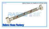 Boyau chaud de tuyauterie d'acier inoxydable de vente avec la ligne rouge et bleue (LBO1007)