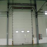 Sicherheits-obenliegend industrielle geschnittentür (HF-011)