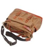 Nuova cartella del sacchetto dell'uomo di fine settimana di corsa della tela di canapa del progettista (RS-6859)