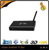 2GB RAM 8ROMアラビアIPTVは人間の特徴をもつスマートなTVボックスを運ぶ