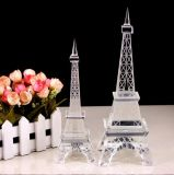 Materielle Qualität K9 und schöner Kristallfarben-Eiffelturm