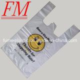 sacchetto variopinto della maglietta di 40cm x di 30+6cm X 25mic con stampa di fragranza
