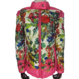 Frauen-Jacken-populäre Auslegung-bunte Dame-Jacke 2015