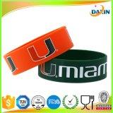 Bracelets personnalisés de silicones personnalisés par logo